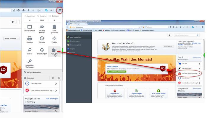 Firefox Flackert