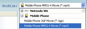 Windows Mobile Video Converter, video to Sony Ericsson Xperia X1