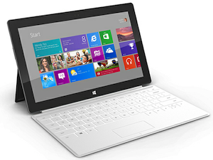 microsoft surface tablet windows rt